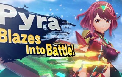 Pyra and Mythra from Xenoblade Chronicles 2 join Super Smash Bros. Ultimate