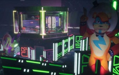 Five Nights At Freddy's Animatronics Get An 80s Glam Rock Makeover In Security Breach