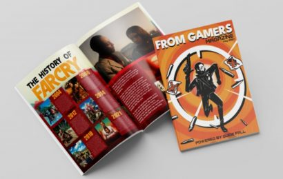 Kickstarter Launches For New From Gamers Video Game Print Magazine