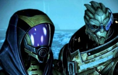 Please Don't Romance Garrus Or Tali In The Mass Effect Remasters
