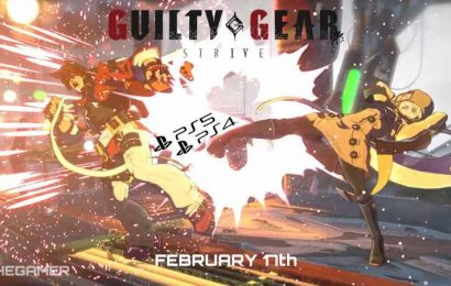 Guilty Gear Strive PS4 And PS5 Open Beta Begins This Month