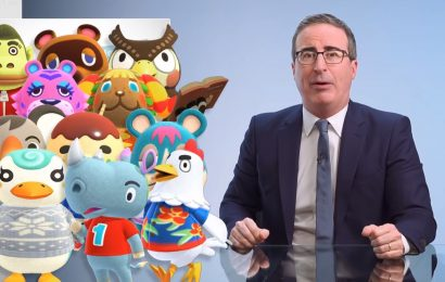 John Oliver Gives Public Health Advice About Your Animal Crossing Villagers