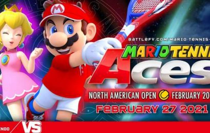 Get Your Game On In Mario Tennis North American Open