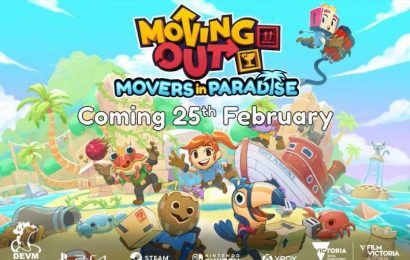 Movers In Paradise, Moving Out's Beach-Themed DLC, Arrives February 25