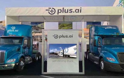 Plus raises $200 million to develop its autonomous truck platform