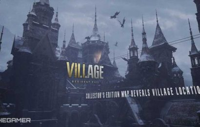 Resident Evil Village Collector's Edition Map Reveals Village Locations