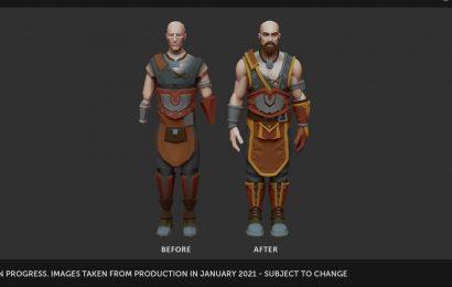 RuneScape Developer Provides More Info About Upcoming Avatar Rework