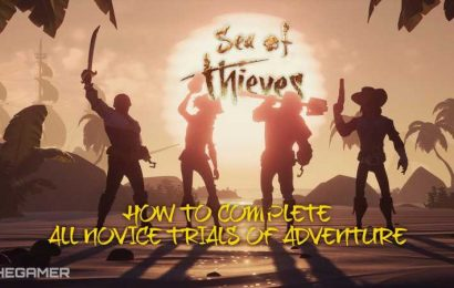 Sea Of Thieves: How To Complete All Novice Trials Of Adventure