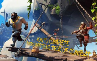 How To Complete Every Ambitious Trial Of Combat In Sea Of Thieves