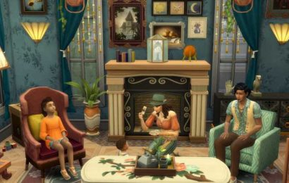 The Sims 4 Paranormal Stuff: How To Tame A Haunted House