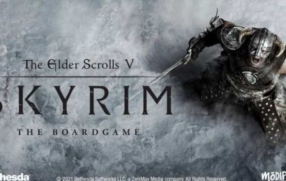 A Co-Op Skyrim Board Game Is Being Crowdfunded