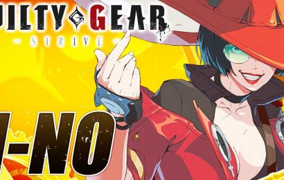 Guilty Gear Strive Officially Reveals I-No