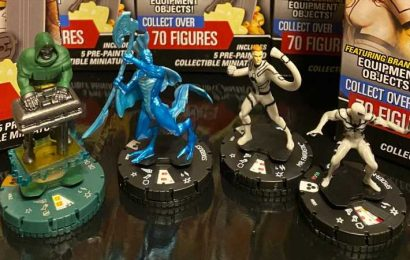 Giveaway: Check Out Marvel HeroClix Future Foundation And Win 5 Boxes!