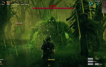 Valheim's Vikings are hitting a brick wall at the game's third boss, Bonemass