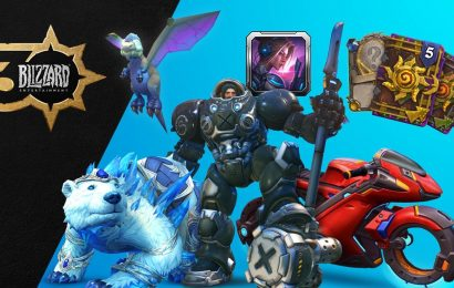 World of Warcraft, Overwatch, and Diablo getting in-game goods for Blizzard's 30th
