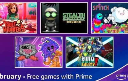 Amazon Prime Gaming Giving Away Eight Games For Free In February