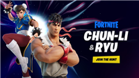 Street Fighter's Chun-Li And Ryu Coming To Fortnite Soon