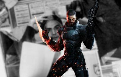 It Looks Like Henry Cavill Is Teasing A Mass Effect Adaptation