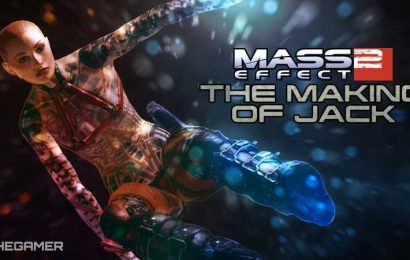 The Making Of Mass Effect 2's Jack