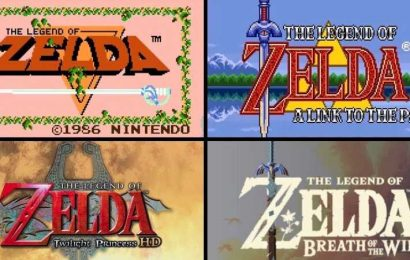 The Legend of Zelda Turns 35 Today