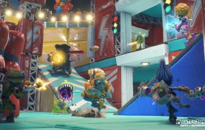 Plants Vs. Zombies: Battle For Neighborville Invades Switch Next Month