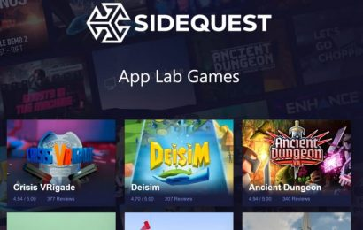 Applab.games: SideQuest's URL For Experimental App Lab Games