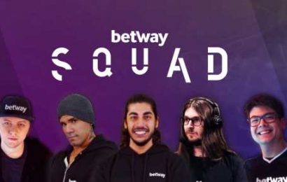 Betway Announces a Squad of Brazilian Esports Influencers