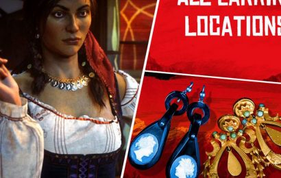 Red Dead Online Earring Map Locations: All Madam Nazar Lost Jewelry collectibles