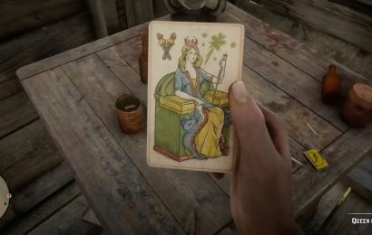 Red Dead Online Tarot Card Wands Locations: All Collector Suit of Wands items