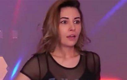 Twitch gamer Alinity flashes boob during live stream in awkward wardrobe gaffe