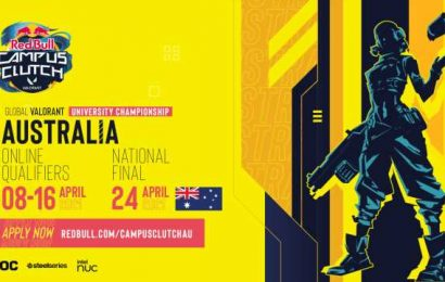 Valorant Red Bull Campus Clutch tournament extends to Australia