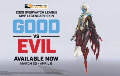 Overwatch League 2020 MVP Fleta gets Good vs. Evil skin – Daily Esports