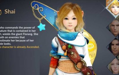 Black Desert Mobile Patch Notes Include Shai Pre-Creation And New World Boss