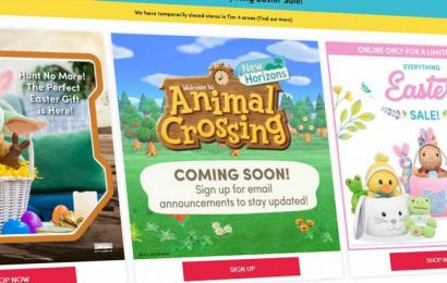 Build-A-Bear Teams Up With Nintendo For Animal Crossing Collection