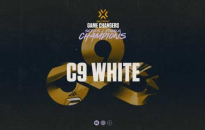 Cloud9 White crowned Game Changers champions