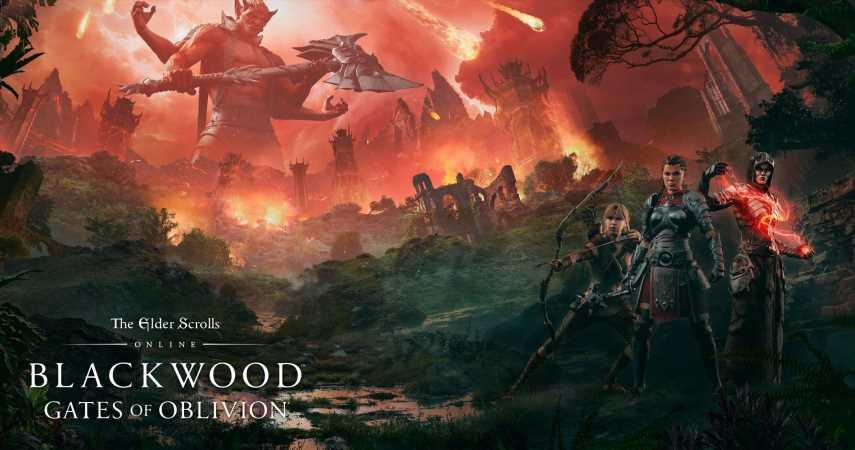 The Elder Scrolls Online Gets New Trailer For Upcoming Blackwood Chapter