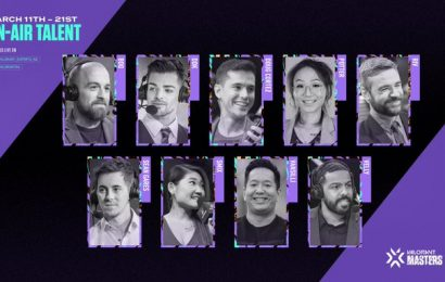 Broadcast Talent Lineup for North American Masters Announced