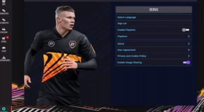 Debug Menu Accidentally Made Available Through FIFA Ultimate Team's Web App