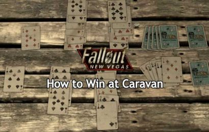 How To Win At Caravan In Fallout: New Vegas