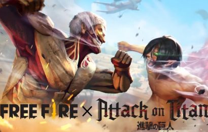 Mobile BR Garena Free Fire Crosses Over With Attack On Titan In The Latest Event