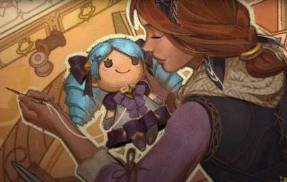 League of Legends' new champion is a creepy haunted doll