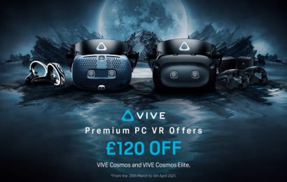 Vive Cosmos is Back on Sale With £120 off