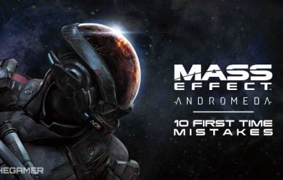 10 Mistakes Everyone Makes Playing Mass Effect Andromeda For The First Time