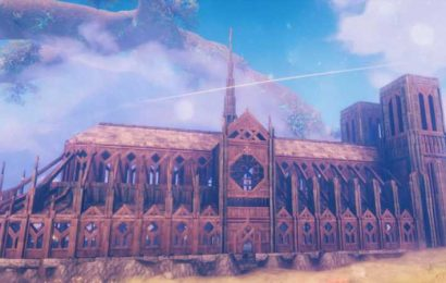 Someone Rebuilt The Notre Dame Cathedral In Valheim