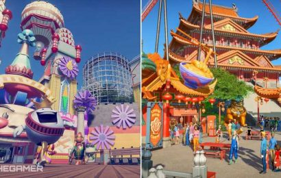 Planet Coaster Console Vintage & World's Fair Pack: Different Focuses That Work Well Together