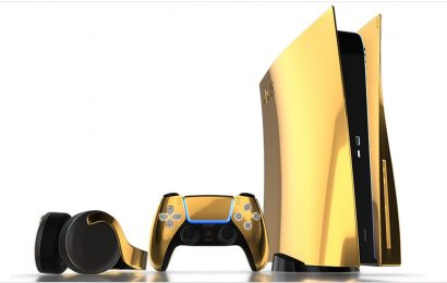 YouTuber Pays Over $11,000 For Gold-Plated PS5