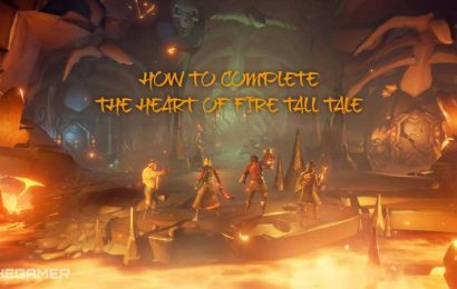 Sea of Thieves: How to Complete the Heart of Fire Tall Tale