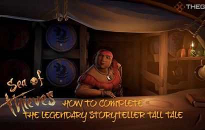 Sea of Thieves: How To Complete The Legendary Storyteller Tall Tale
