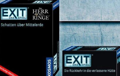 Escape Room Board Game Exit Teases LOTR Version