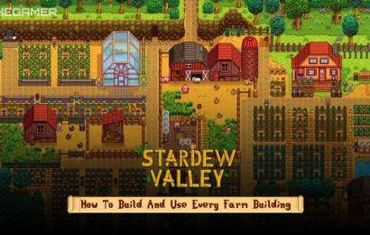 Stardew Valley: How To Build And Use Every Farm Building